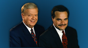 Orion Samuelson and Max Armstrong