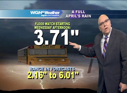 Flood Watch: Effective later today until Thursday night