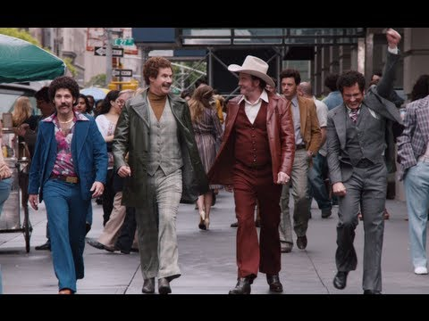 The cast of Anchorman 2