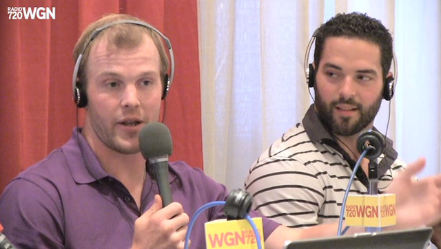 2013 Blackhawks Convention – Bryan Bickell and Brandon Bollig