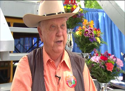 WGN Radio's Orion Samuelson honored at State Fair