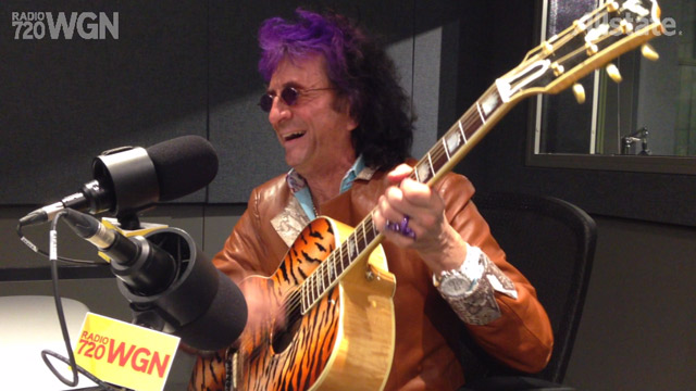 "Jim Peterik performs ""Vehicle"""