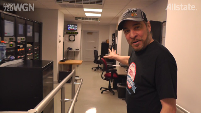 Nick Digilio's Graveyard Shift Tour – Master Control and Fridge