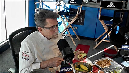 Rick Bayless Makes Guacamole