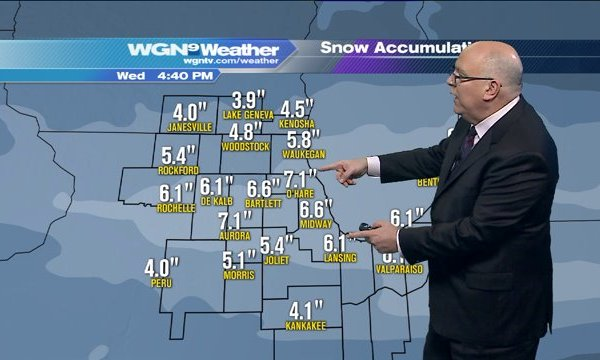 Several inches of snow possible next few days: Skilling full forecast