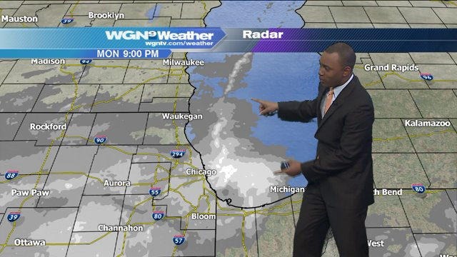 'Significant lake effect event' underway in Chicago, NW Ind.