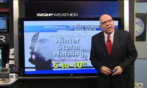 Skilling: Chicagoland to get 5-10″ of snow