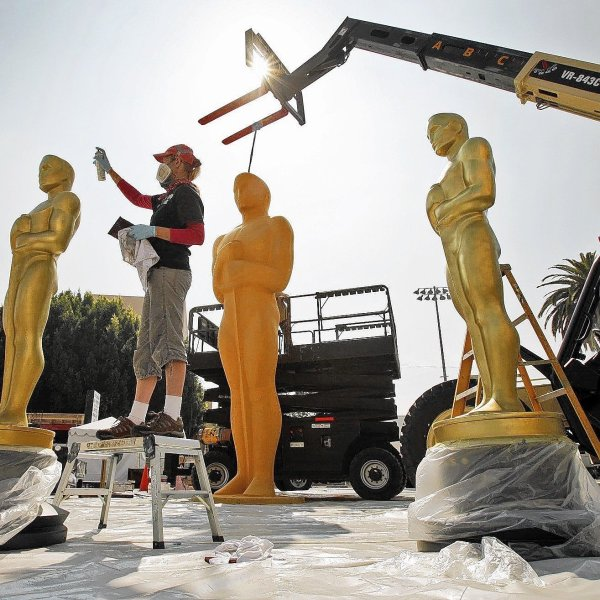 Academy Awards preparations