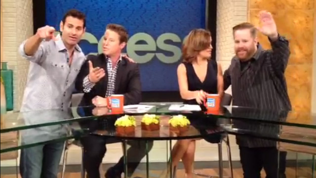 """Pete McMurray and Scott Miller visit """"Access Hollywood Live"""""""