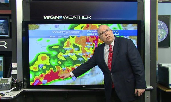 Severe weather outbreak threatens Chicagoland