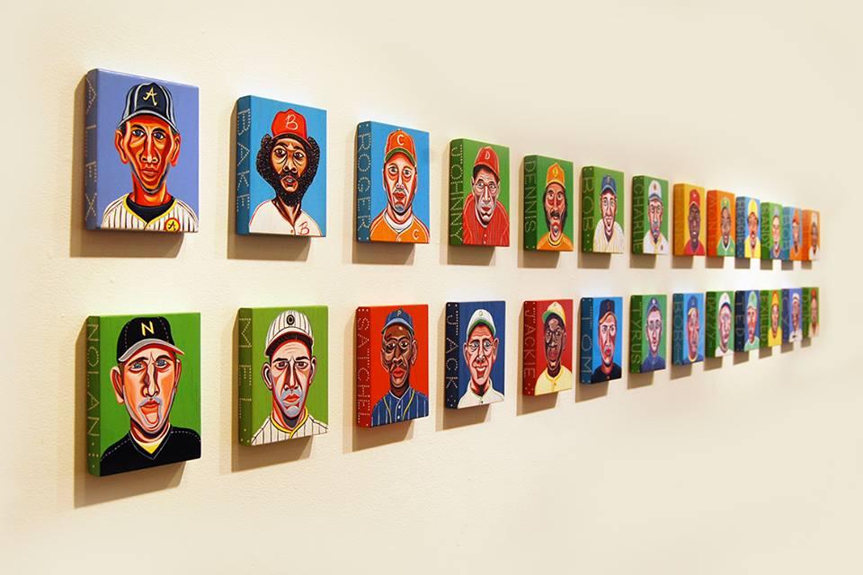 Pine Tar Portraits