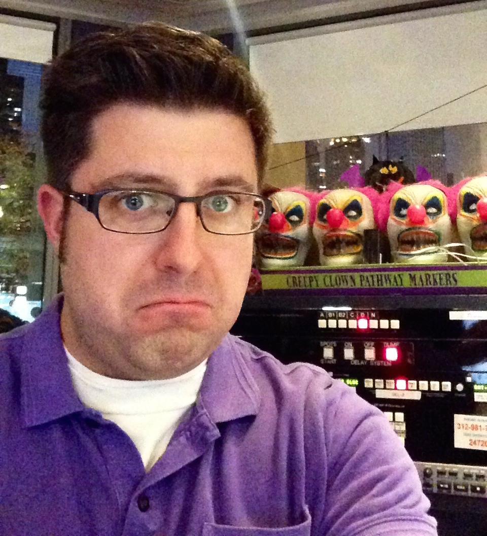 OTL host Mike Stephen feels like he's being watched in the studio.