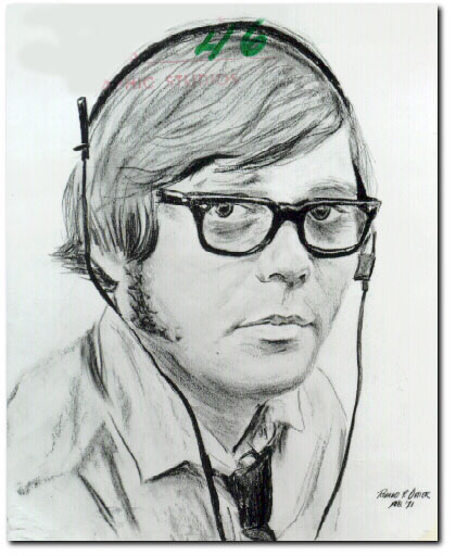 Back in the days before photography, pencil drawings were used to capture Bob's likeness.