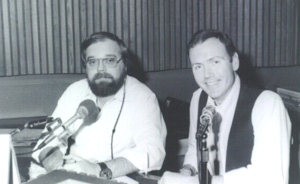 ob with newsman, sidekick, and partner in crime, Jim Loughman