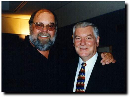 Bob with Illinois Democratic Gubenatorial candidate Glen Poshard