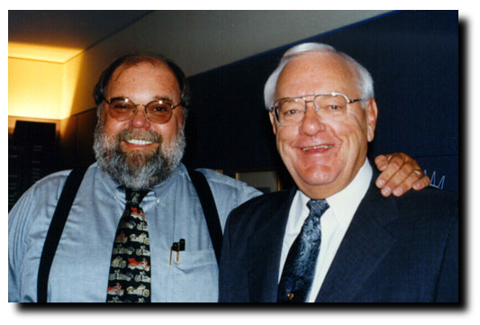 Bob with Illinois Governor George Ryan