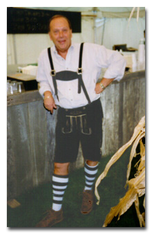 """Morning Drive Anchor, News Director Tom Petersen. (There are so many comments we could make right now. We'll just say """"nice socks"""" and leave it at that.)"""