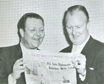 Eddie Hubbard and Jack Brickhouse