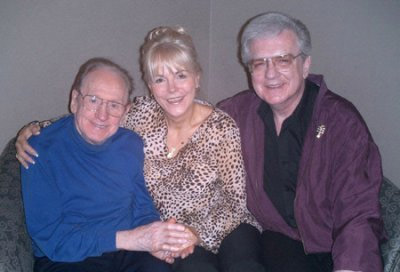 Les Paul with Johnnie and Steve