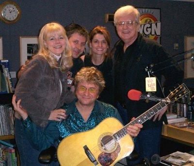 Jim Peterik with Jeff Boyle and Lisa McClowry