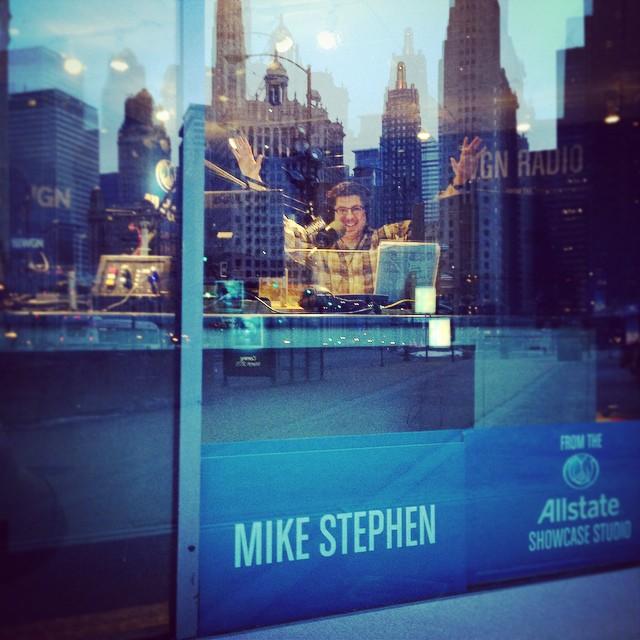 OTL host Mike Stephen victorious!