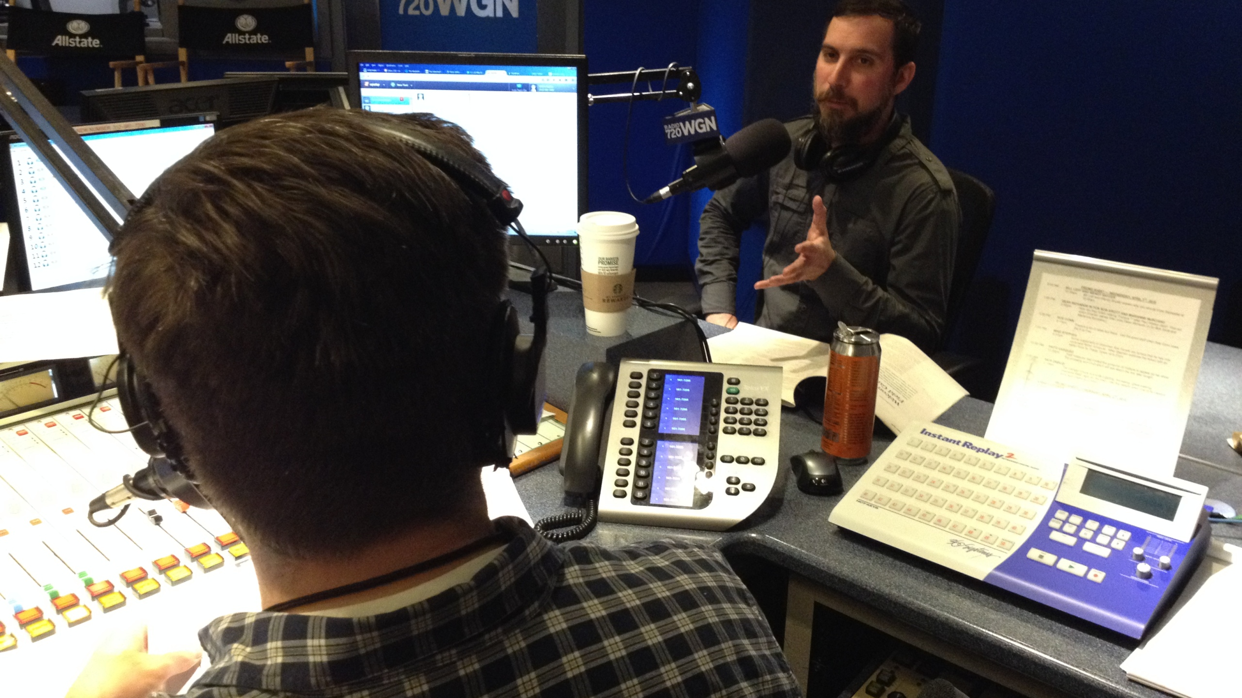 The Lumpen Field Guide to Chicago Jagoffs co-editor Paul Durica joined host Mike Stephen in-studio.