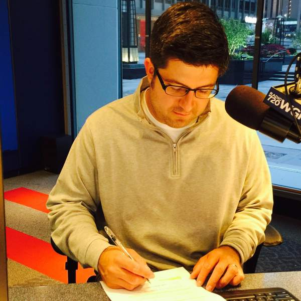 OTL host Mike Stephen critiques his on-air performance during the 630am newsbreak.