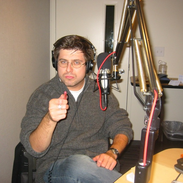 OTL host Mike Stephen practices for the show each week in a studio much like this one in a top-secret underground bunker.