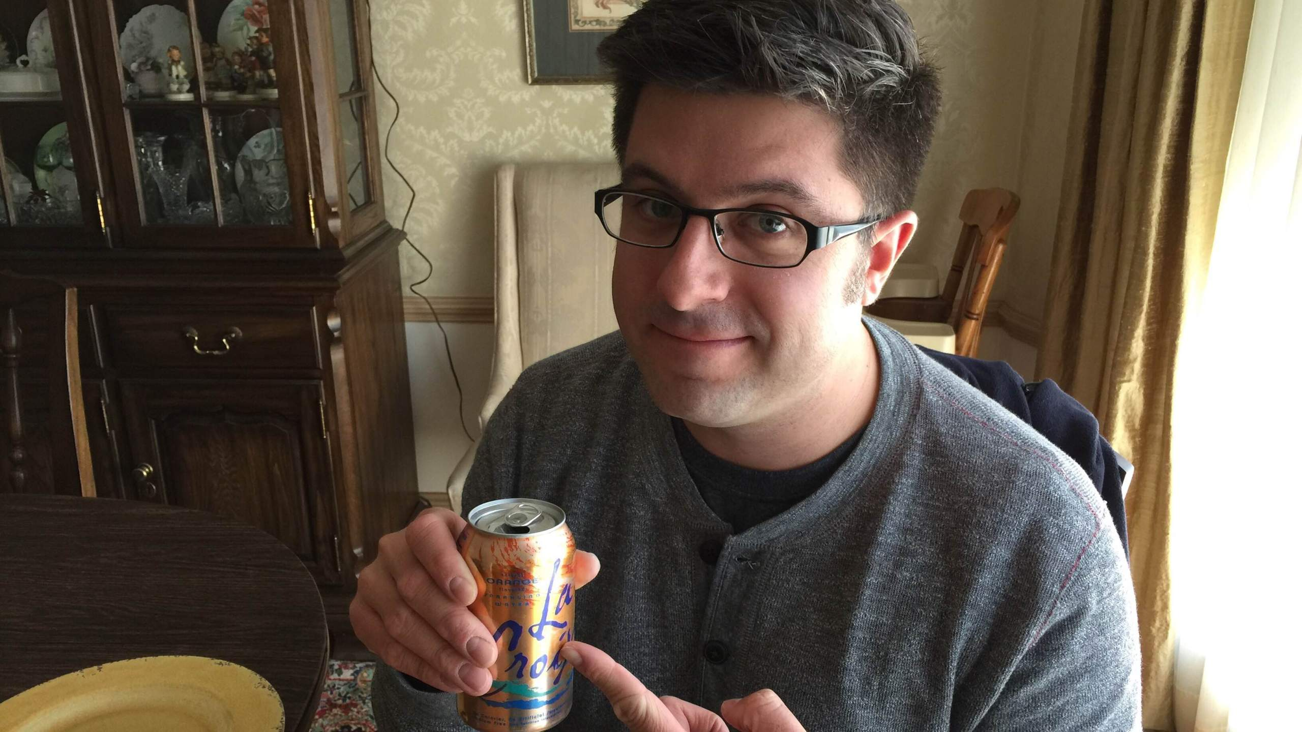 OTL host Mike Stephen offers his services as a spokesperson for LaCroix Sparkling Water.