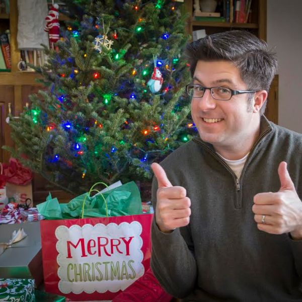 OTL host Mike Stephen gives the thumbs up to the greatest gift he received this year... the WGN Radio listeners!
