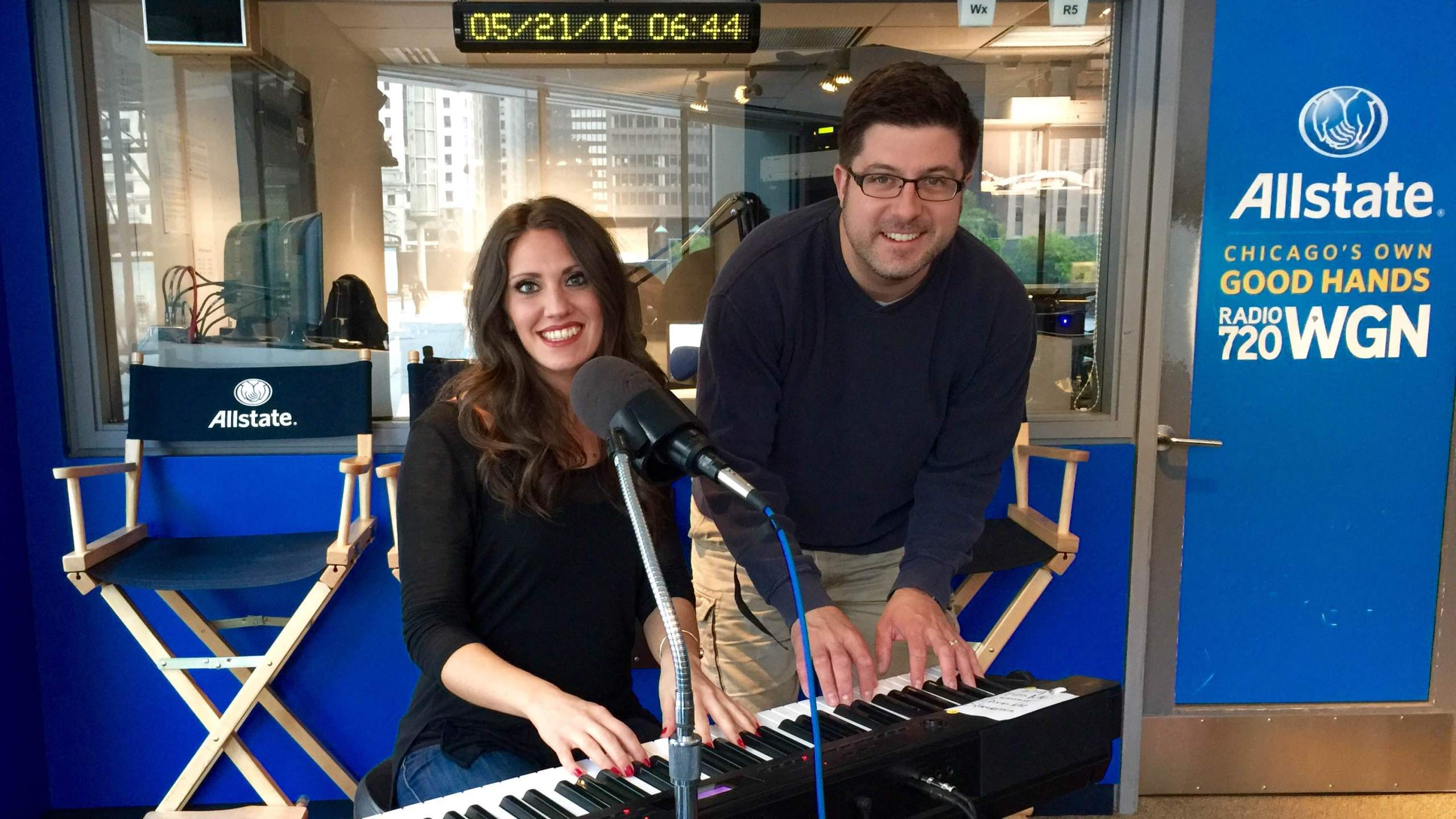 Local musician Dina Bach previewed her new EP Kiss Me Like That all throughout OTL #501. Fortunately, OTL host Mike Stephen is only posing here.