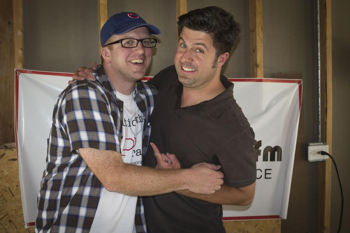OTL producer Andy Hermann and host Mike Stephen re-imagine Mike's East Village rebel garage for a special show taping in 2014.