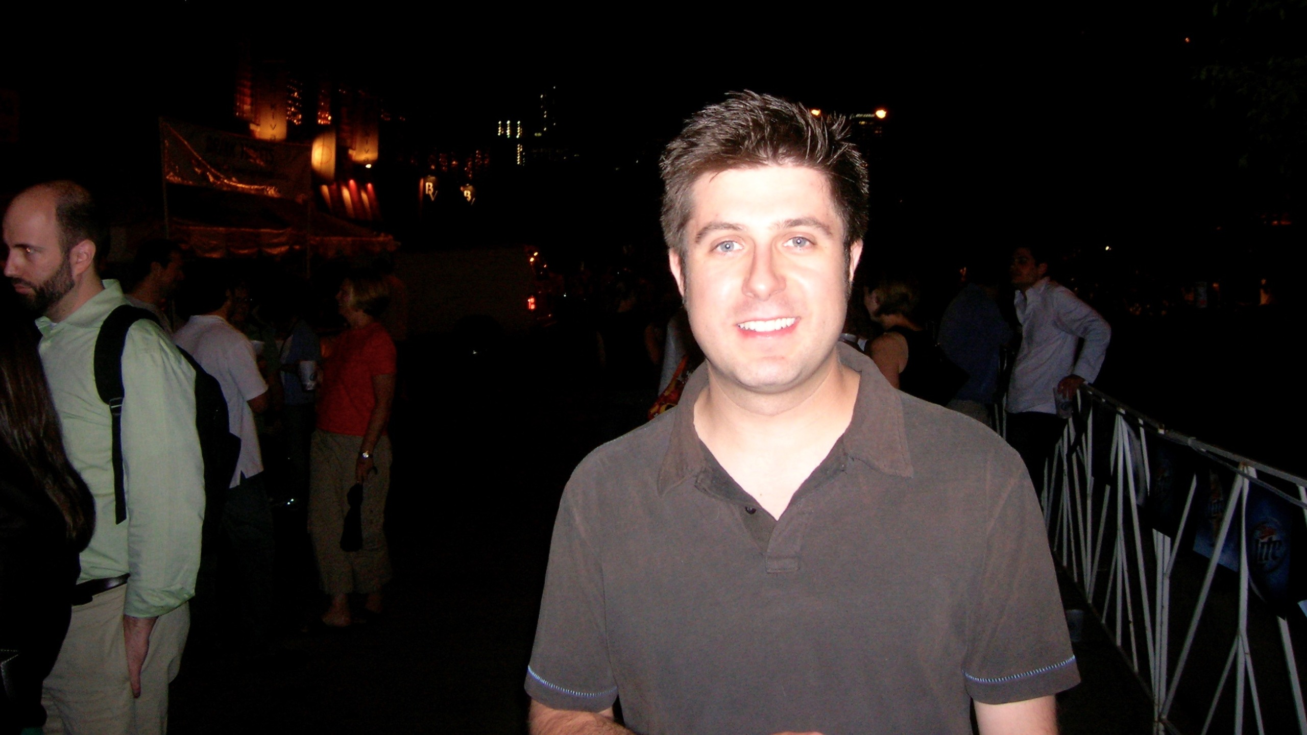 OTL host Mike Stephen may or may not have paid the donation at the gate to enter the Taste of Randolph festival back in 2008.