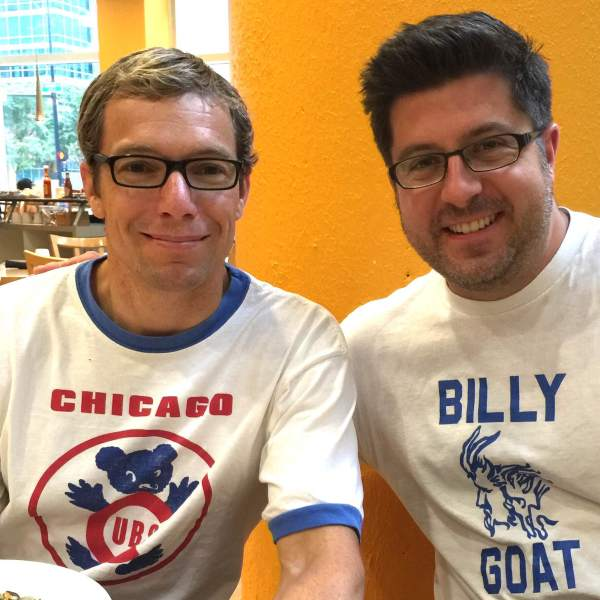 Chicago Sun-Times staff reporter Mick Dumke and OTL host Mike Stephen rep the city and solve the world's problems during their post-show breakfast meeting.