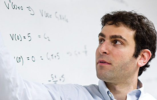 Matthew J. Hoffman, Ph.D., Assistant Professor, School of Mathematical Sciences, Rochester Institute of Technology [photo courtesy Rochester Institute of Technology]
