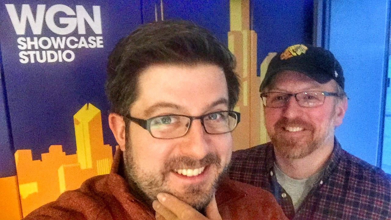 Outside the Loop celebrates the 2017 MANuary Beard Season! [l-r] OTL host Mike Stephen, OTL producer Andy Hermann