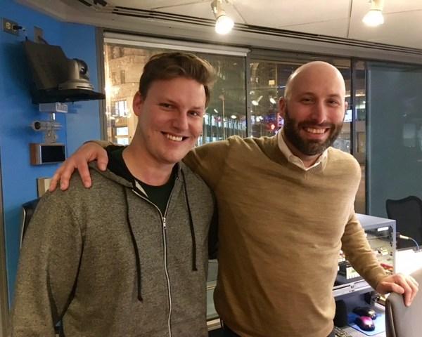WGN's Sam Panayotovich and Justin Kaufmann