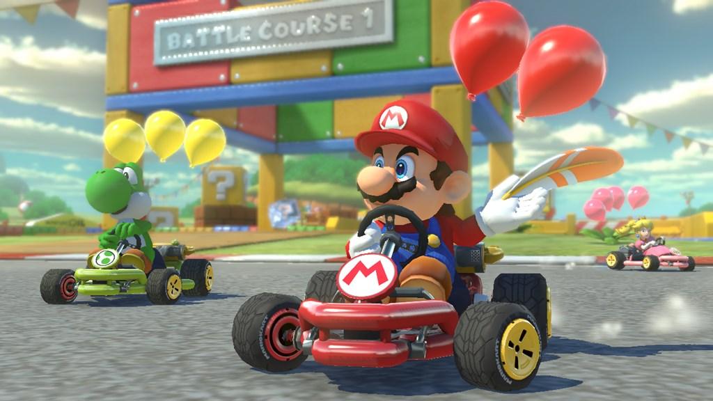 Nintendo, Mario Kart 8 Deluxe, Nintendo Switch, Mason Vera Paine, Kyle Hanson, Bungie, Activision