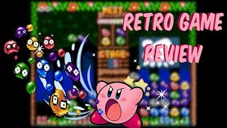 Kirby's Avalanche, Dr. Robotnik's Mean Bean Machine, Complete In Box, Sega, Super Nintendo, Genesis, Puyo Puyo, Dr. Mario, Kirby's Ghost Trap, Arcade Clone, Kirby, Rage Inducing, Video Games, Retro Games, Retro Gaming Search,Video Games, Retro Video Game Review,  Mason Vera Paine, Millennial, Games
