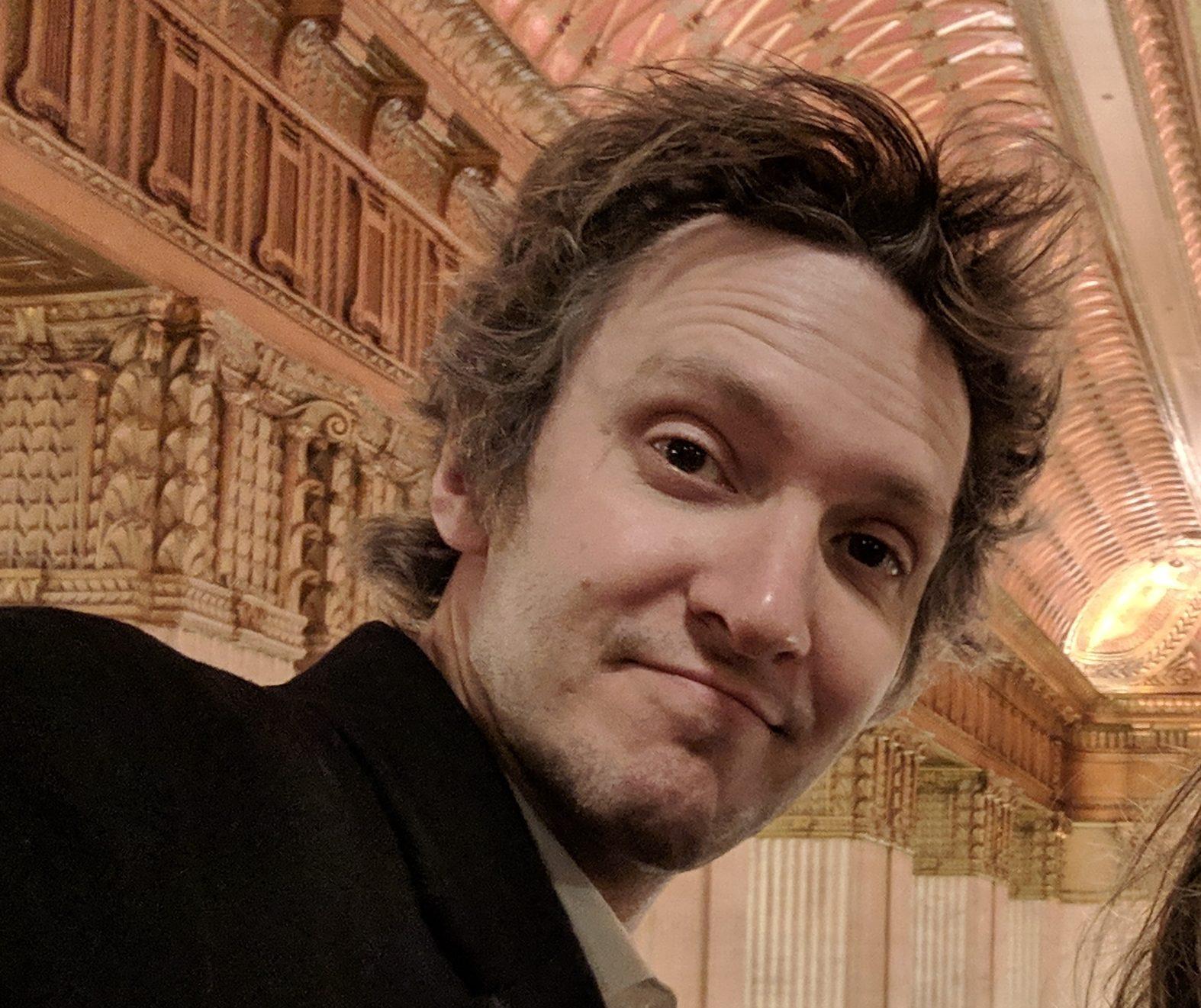 WGN Radio's Cody Gough at the Lyric Opera of Chicago