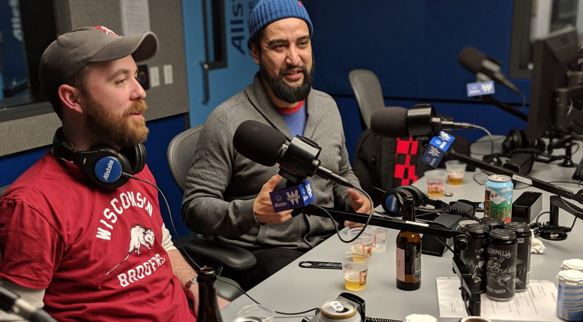 "John Carruthers and Jesse Valenciana on ""At the Breweries"" on WGN Radio"