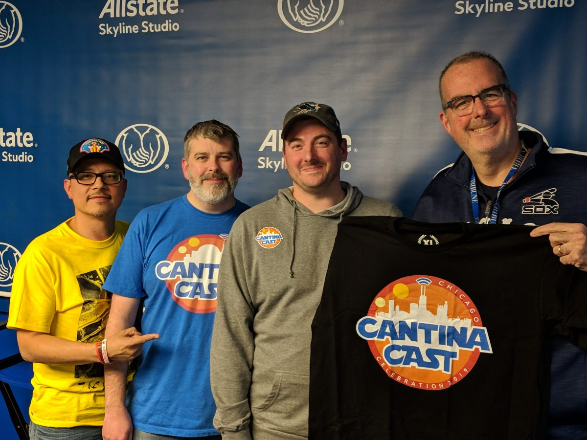 """The Cantina Cast"" Star Wars podcast crew with WGN Radio's Brian Noonan"