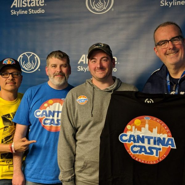 """""""The Cantina Cast"""" Star Wars podcast crew with WGN Radio's Brian Noonan"""