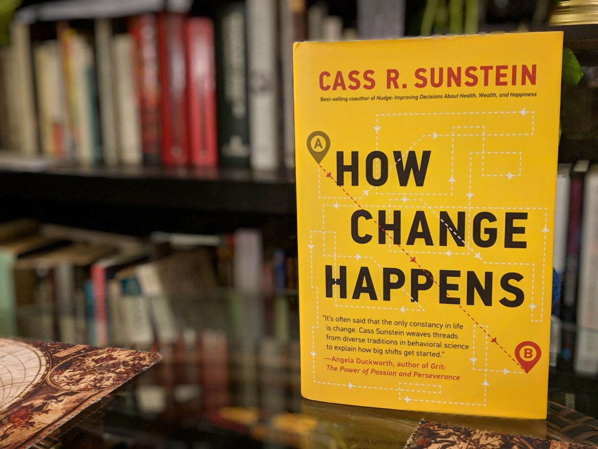 """""""How Change Happens"""" by Cass Sunstein"""