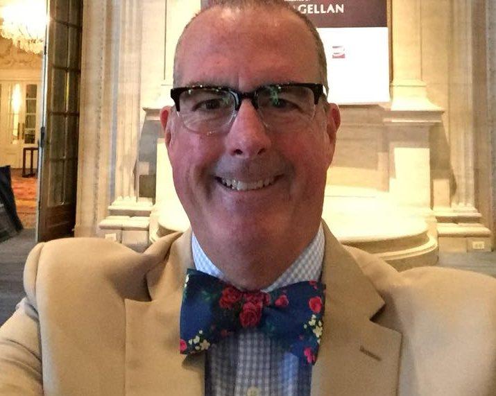 Brian Noonan rocks a bow tie