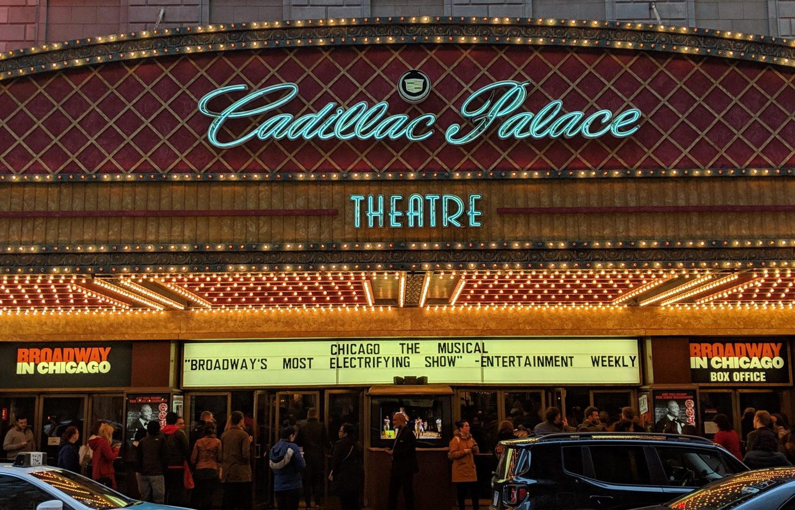 """""""Chicago"""" at the Cadillac Palace Theatre"""