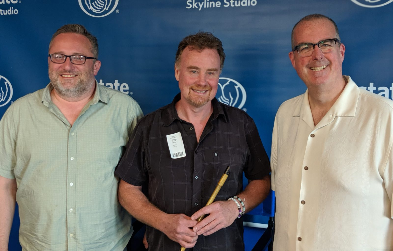 From left to right: Mark Piekarz, James Conway, and Brian Noonan