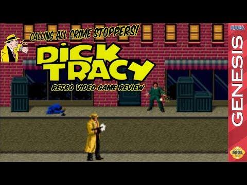 Dick Tracy, Video Games, Retro Games, Sega Genesis, Genesis, Nintendo, NES, Movies, Film, Entertainment, Comic Strip, Chester Gould, American Comic Strip, Mason Vera Paine, MVP Show, Unabridged Millennial, Team MVP, Millennial