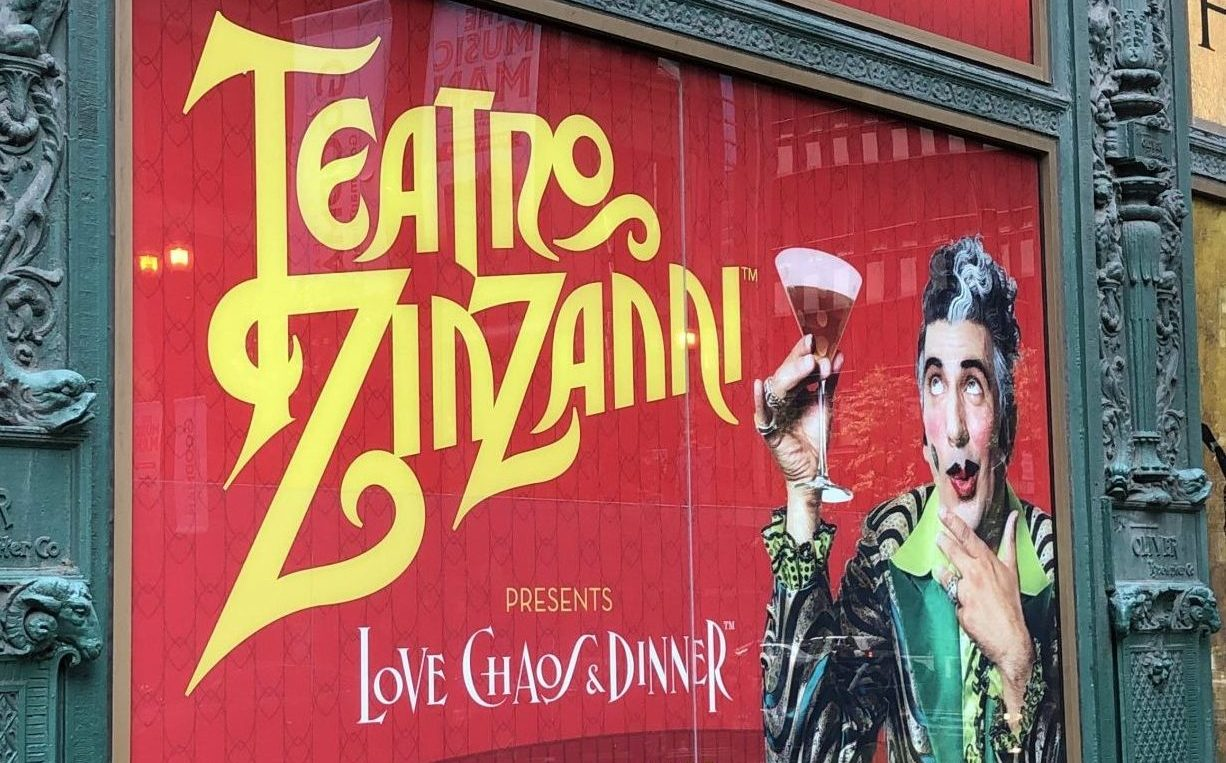 Teatro ZinZanni presents Love, Chaos & Dinner
