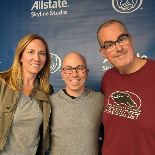 From left to right: Stephanie Gresh, Chef Cleetus Friedman, and Brian Noonan